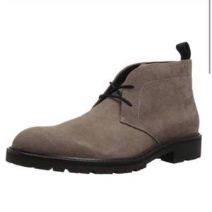 Calvin Klein ULTAN Calf Suede Chukka Boot, Army 11